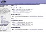 PHP ダウンロード 01