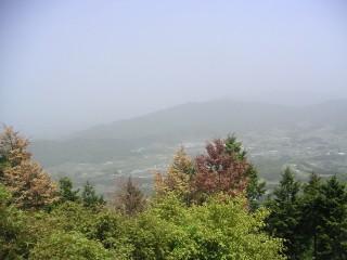 吉祥山の頂上