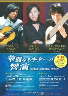 華麗なるギターの響演 ポスター