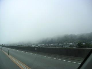 海から発生した雲