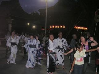 み魂祭り 盆踊り