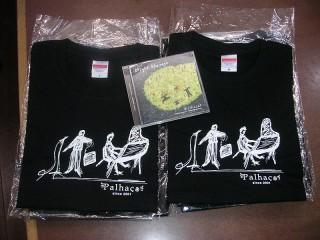 パリャーソ Tシャツと新作CD「Night Harvest」