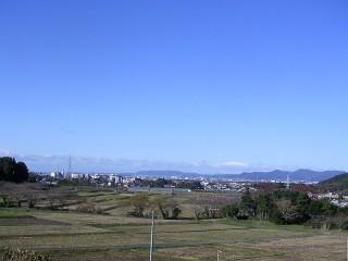 蒲郡方面の景色