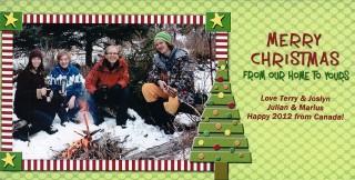 フリッツファミリークリスマスカード
