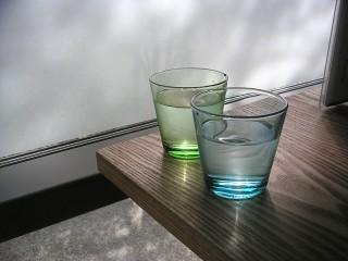 サクラカフェ イッタラのグラス