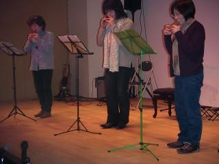 マスカット(コカリナ) 鎌田さん、タカちゃん、藤田さん